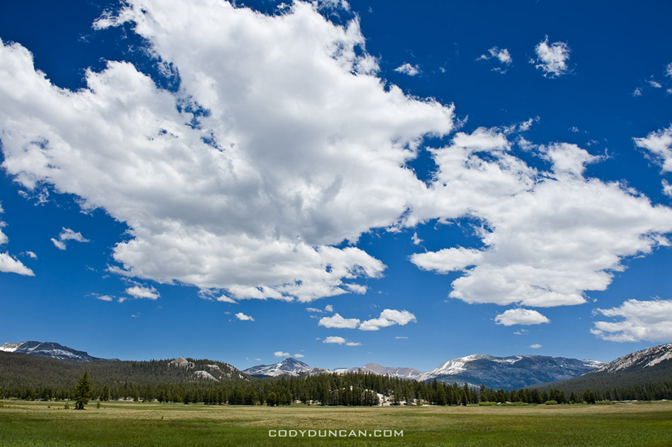 Summer day, Tuolumne Meadows, Yosemite national park, California