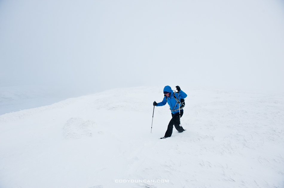 Brecon Beacons winter hiking