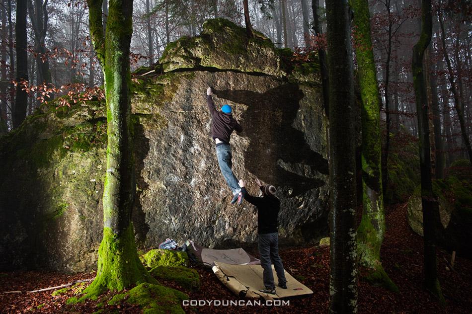 Frankenjura Bouldern - Franenjura bouldering