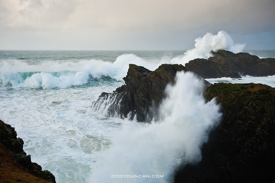 Isle of Lewis storm waves
