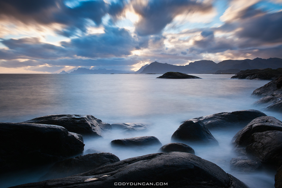 Coastal scenery, Lofoten Islands, Norway
