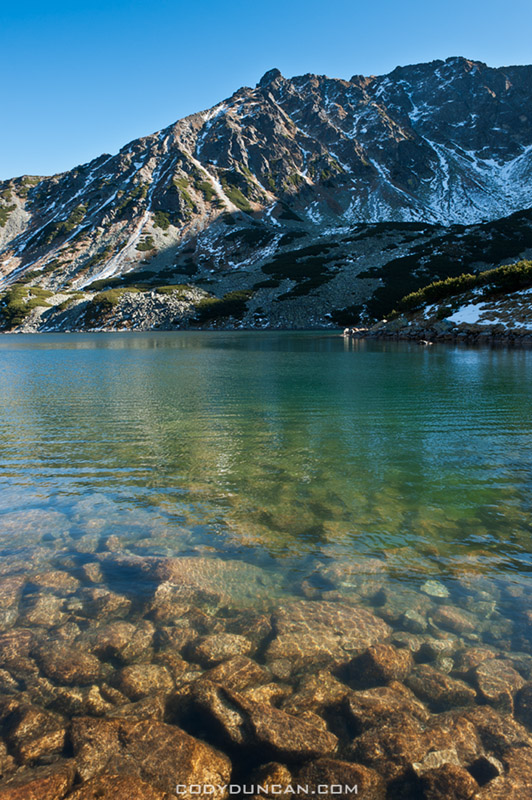 Przedni Staw - Front lake, Five Lakes Valley, Tatra mountains, Poland