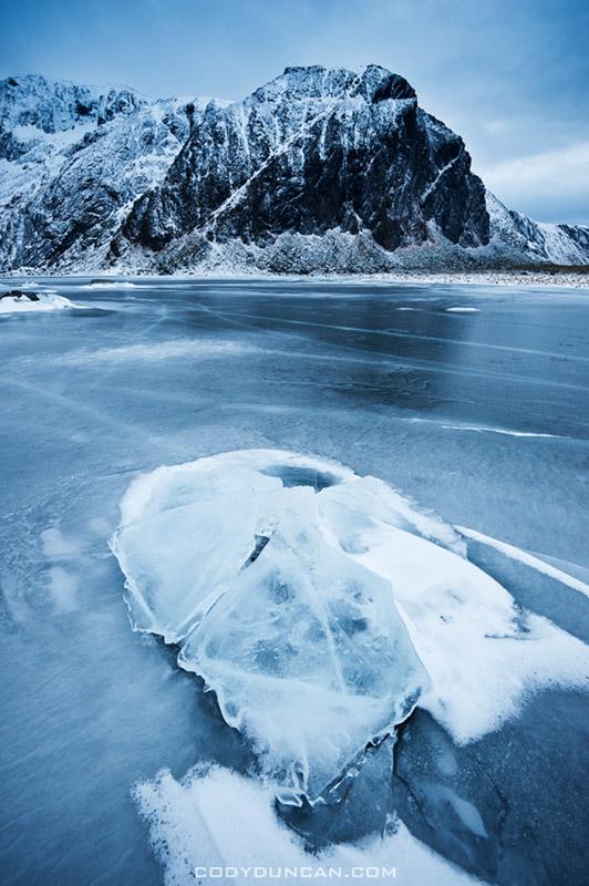 Nedre Heimdalsvatnet, Eggum, Lofoten Islands, Norway