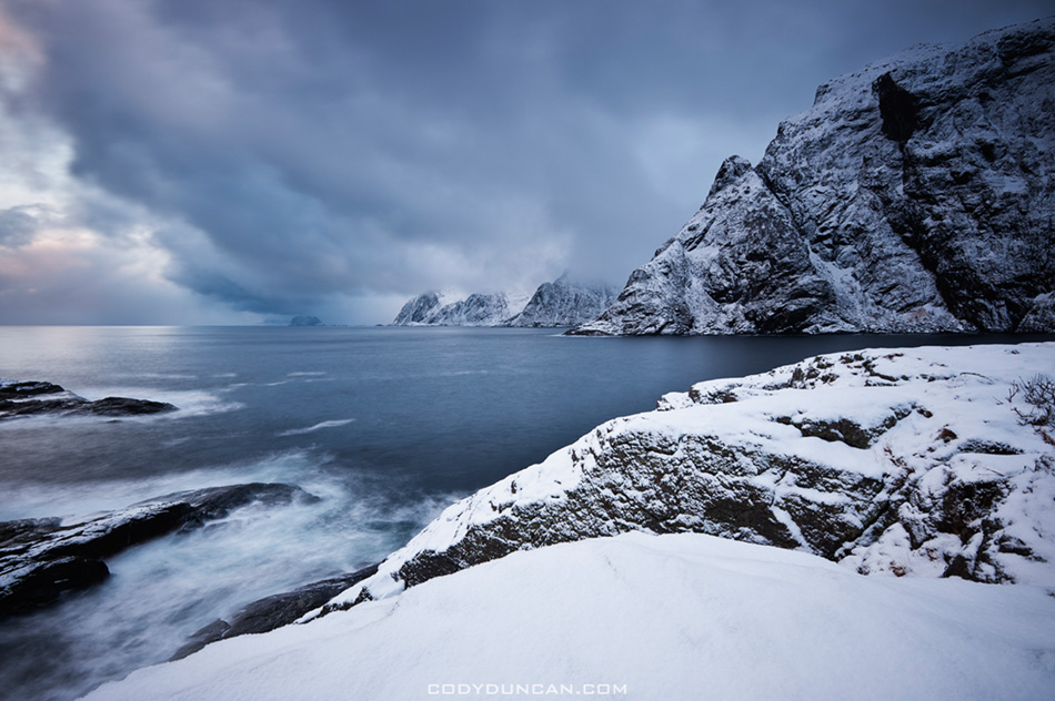 Lofoten Islands winter, Norway
