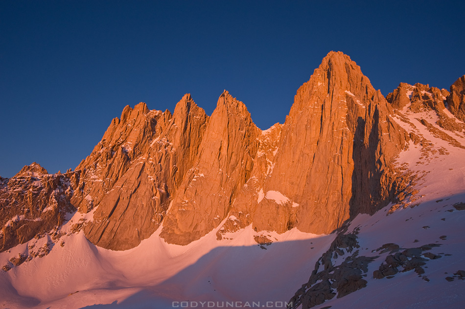 Mount Whitney Sunrise
