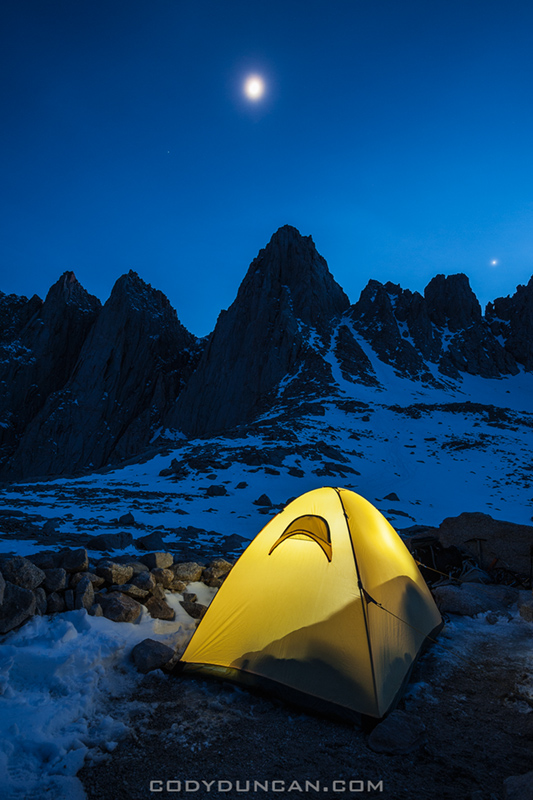 Mount whitney camping