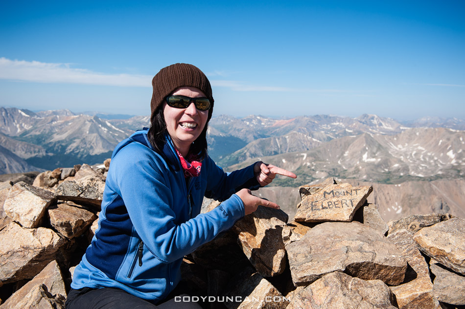Mt elbert summit, Colorado