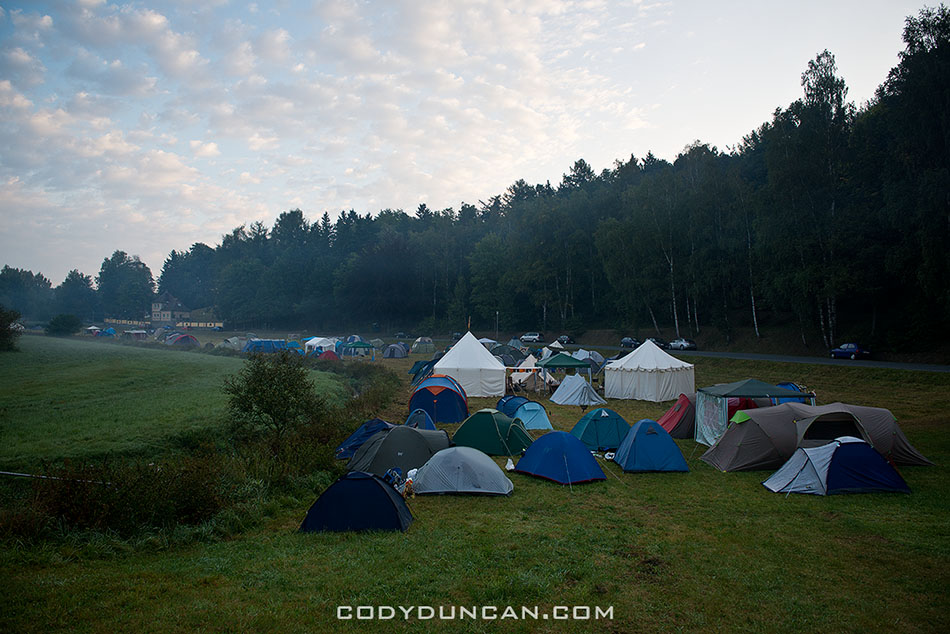 Festival-Mediaval campground, Selb, Germany