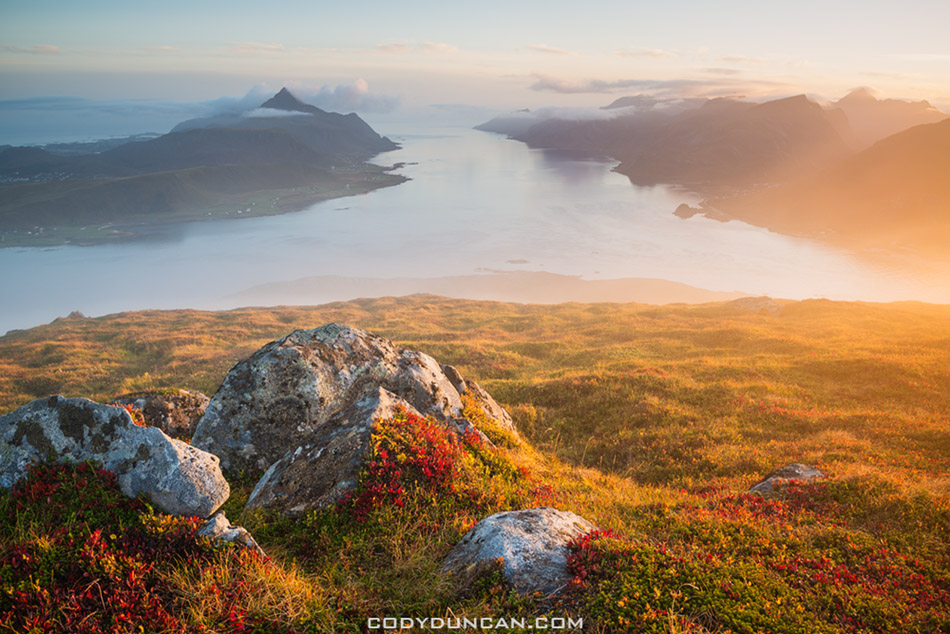 Offersøykammen, Vestvågøya, Lofoten Islands, Norway
