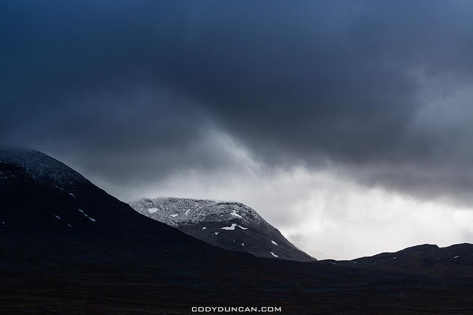 Alisvaggi, Kungsleden trail, Lappland, Sweden