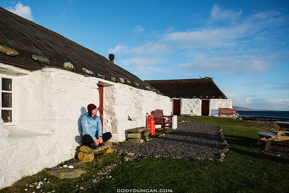 Berneray hostel scotland