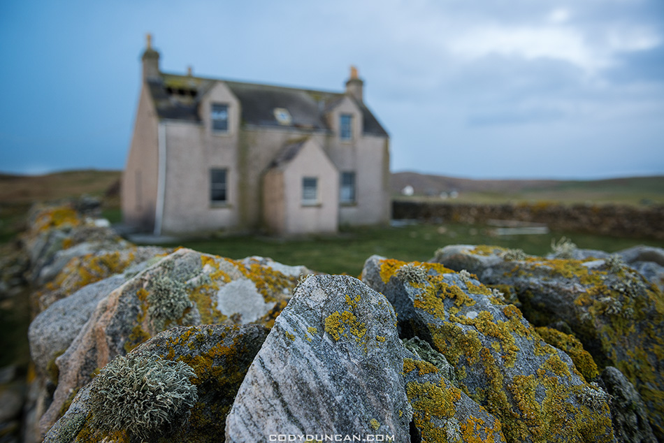 Abandoned building, Berneray, Scotland