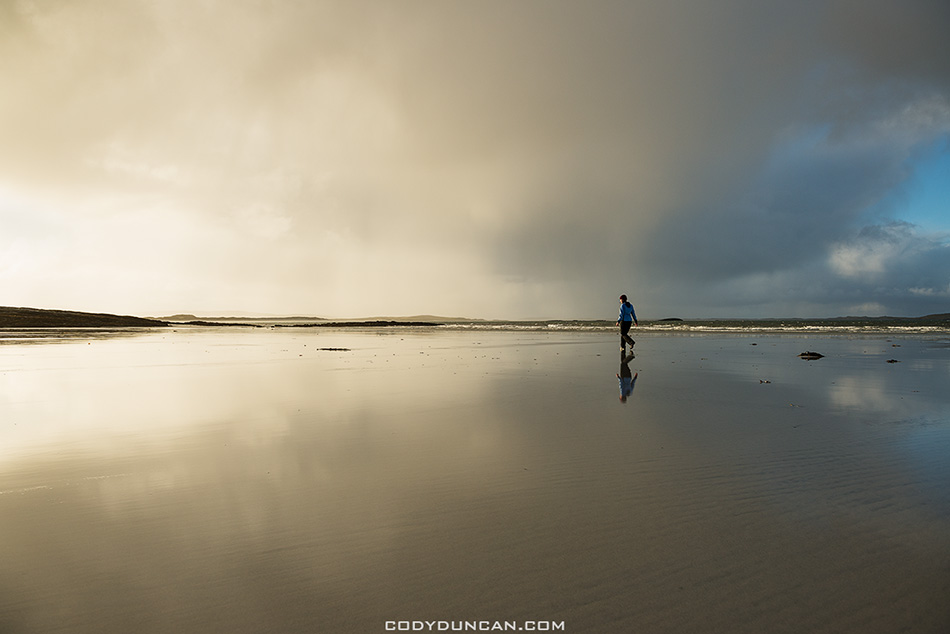 North Uist beach, Outer Hebrides, Scotland