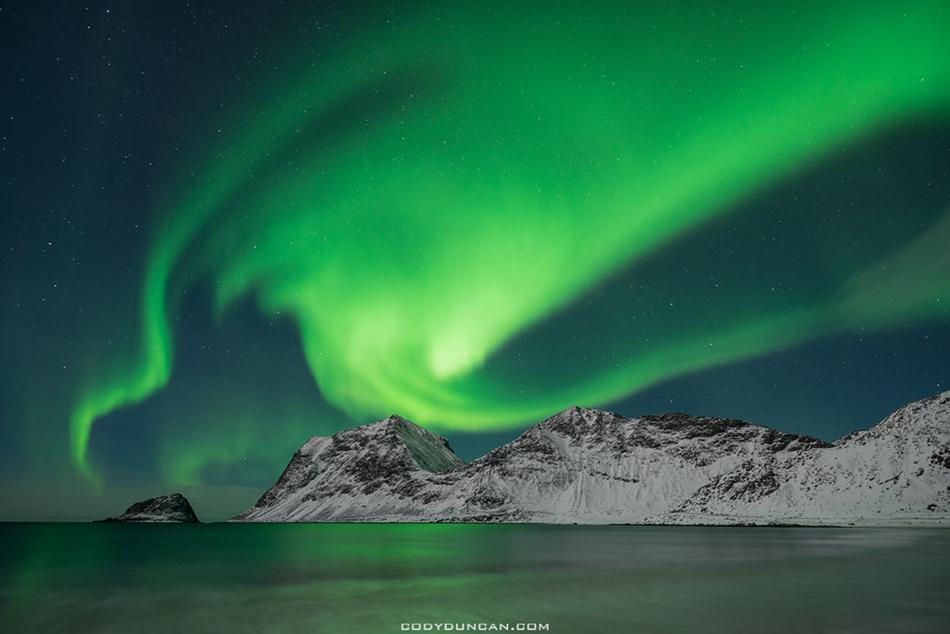 Lofoten Islands Northern Lights February 2013