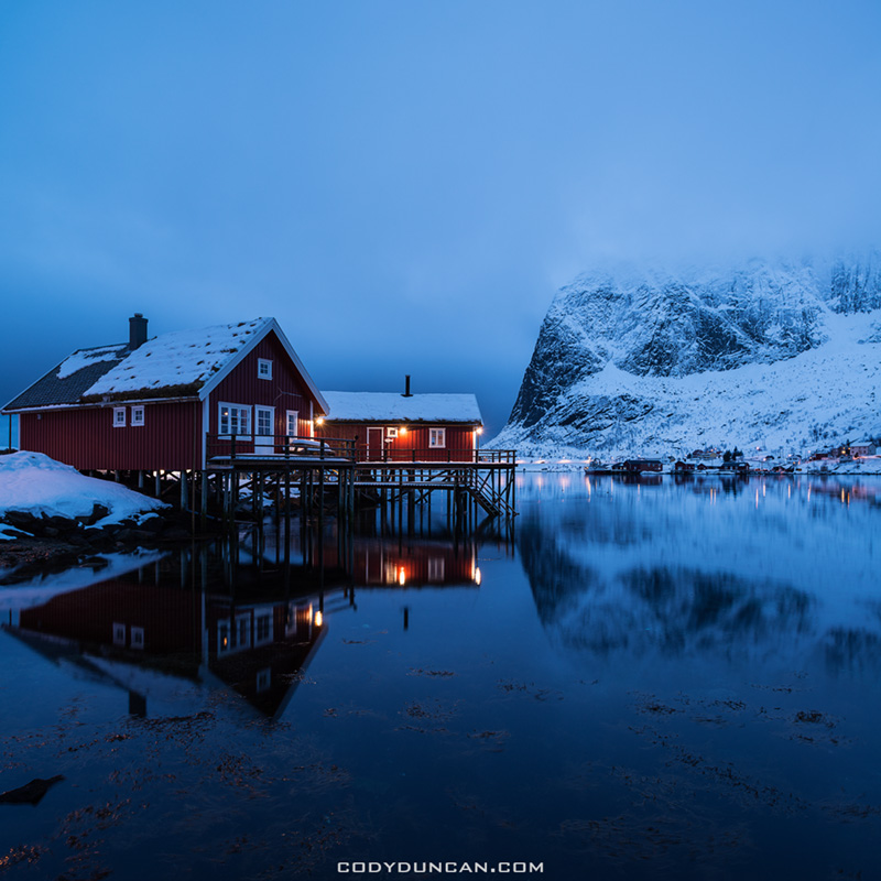 Reine Lofoten Islands Norway