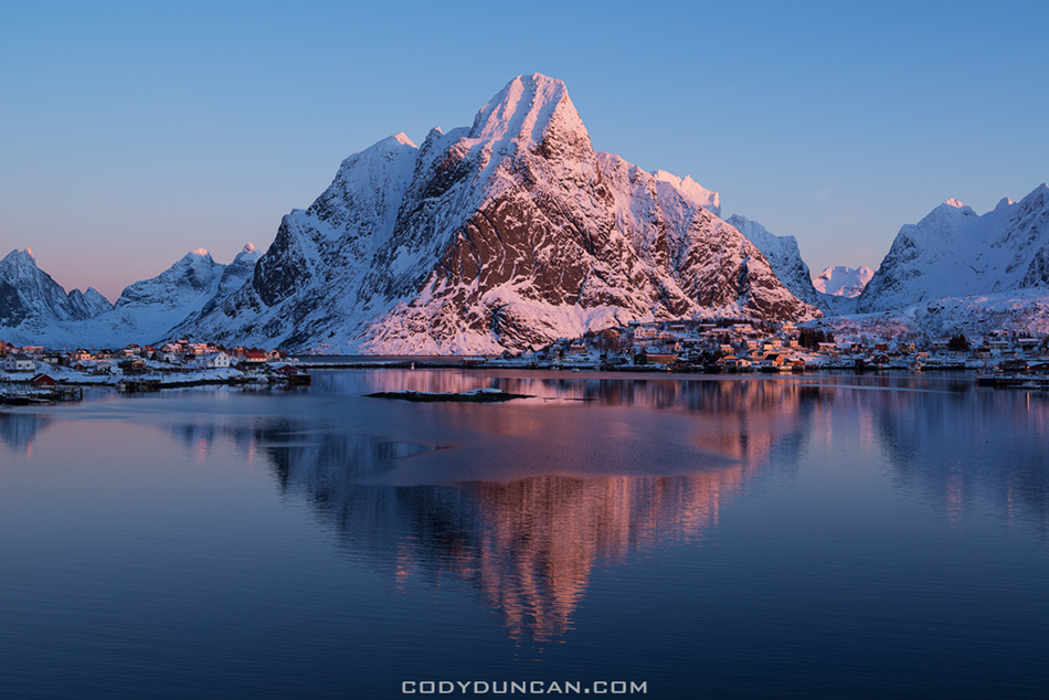 Reine Winter Sunrise