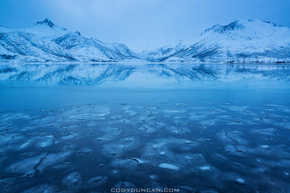 Vatterfjordpollen, Austvågøy, Lofoten Islands, Norway