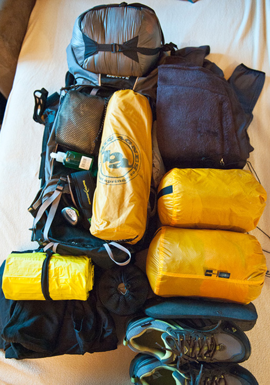 Lofoten Islands Hiking gear 2011