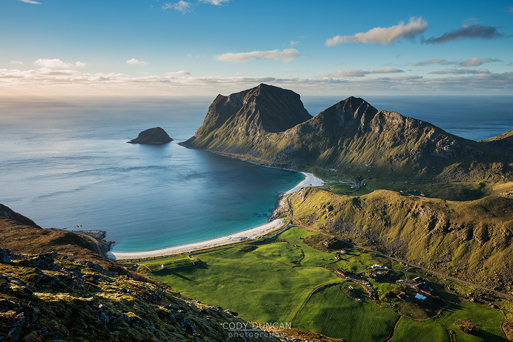 Holandsmelen Lofoten Islands, Norway