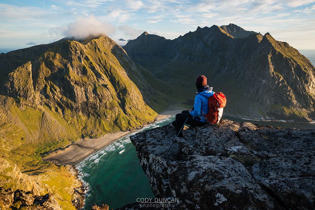 Ryten Hiking Lofoten Islands Norway