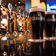 Pints of Guinness at TBEX Dublin