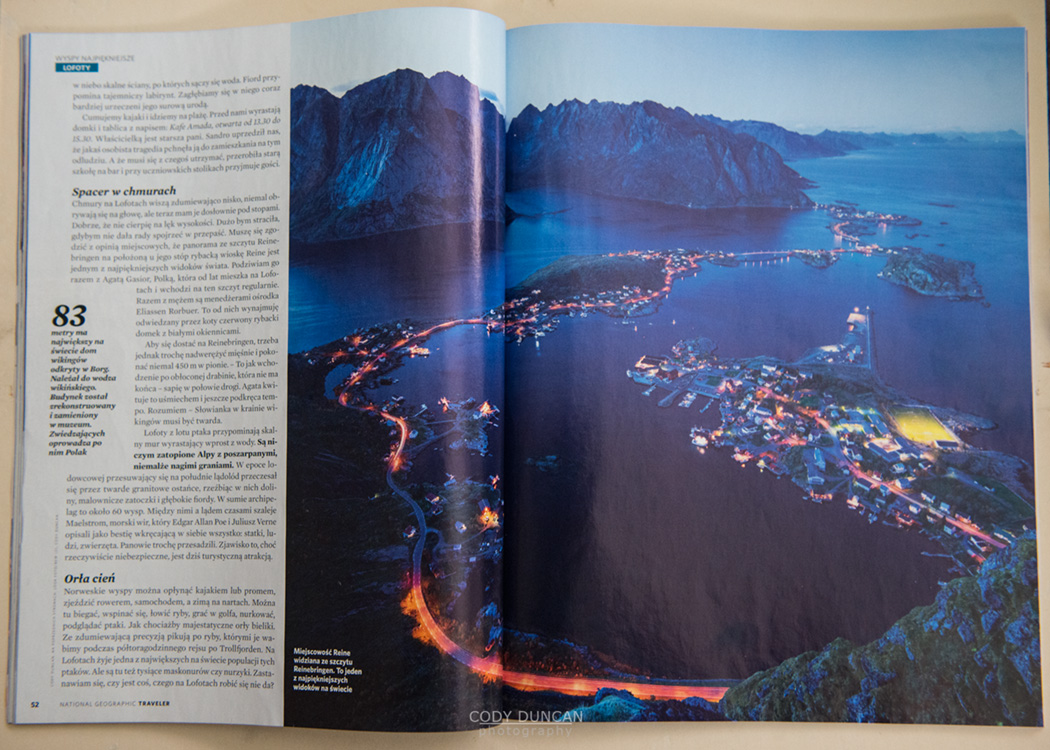 Lofoten national geographic traveler poland