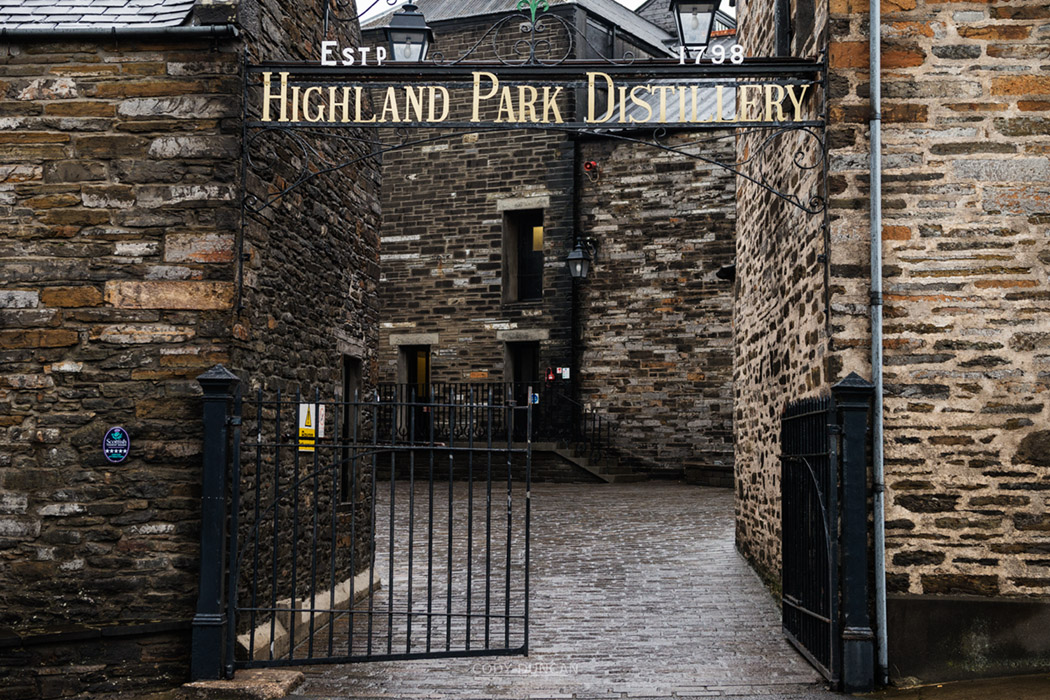 HIghland Park Distillery Tour Orkney Scotland