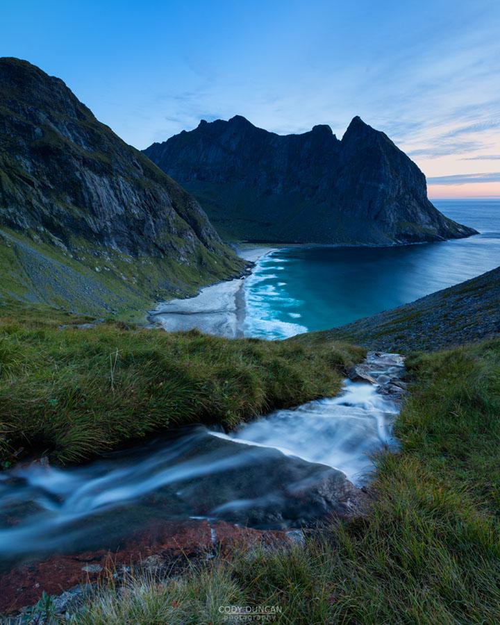 Kvalvika Beach, Lofoten Islands, Norway