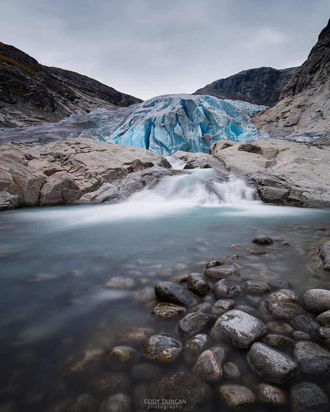 Nigardsbreen glacier, Norway