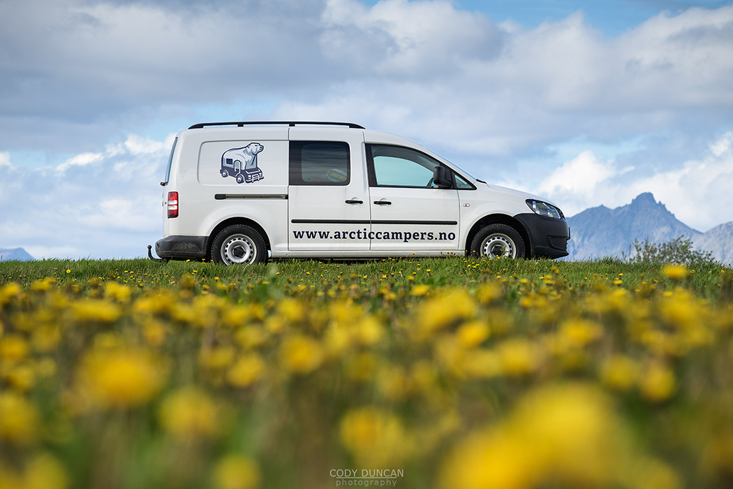 Arctic Campers - Lofoten Islands Camper Van Rental