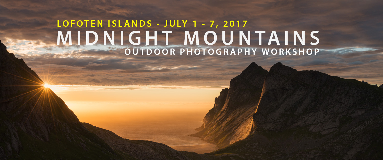Lofoten Islands Photo Tour - July 1 - 7, 2017