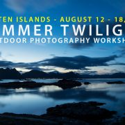 Lofoten Photo Workshop - August 2017