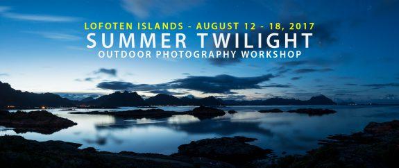 Lofoten Photo Workshop - August 2017