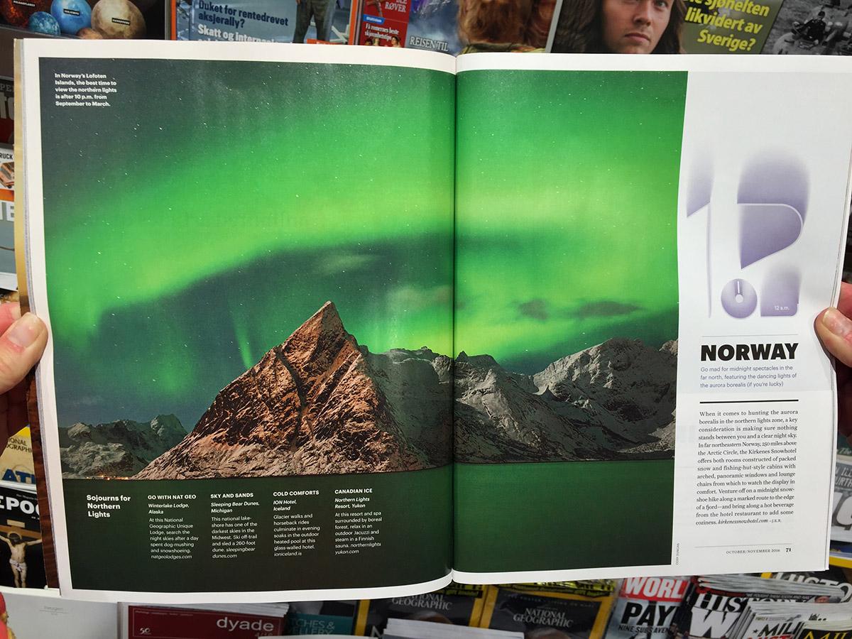 Cody Duncan Lofoten - National Geographic Traveler