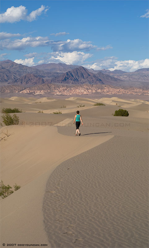 sand dune, death valley